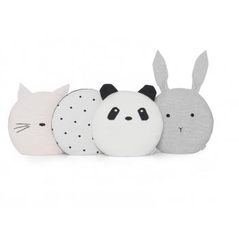 Knit Pillow Kaj - Panda