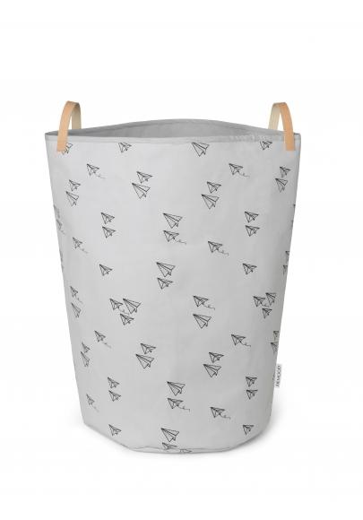 Storage Basket Ann Fabric - Paper Planes