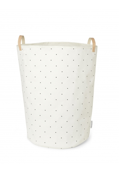 Storage Basket Ann Fabric - Classic Dot