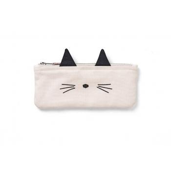 Cat Pencil Case - Pelle