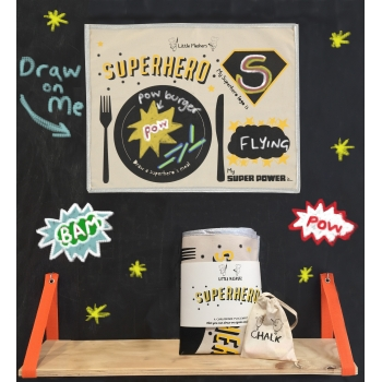 Superhero Placemat