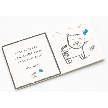 Pets Slide & Play Book
