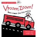 Vroom, Zoom ! Here comes the Fire Truck Press & Listen Book