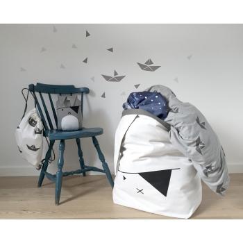 Pirate Bunny Storage Bag