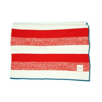 Red Striped Blanket