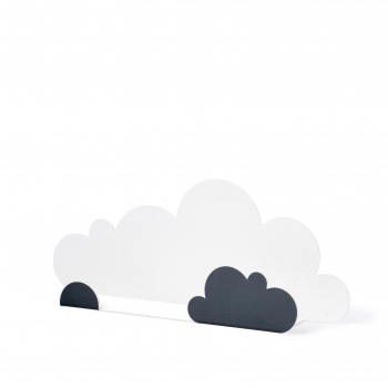 Grey Cloud Shelf & 4 Stickers