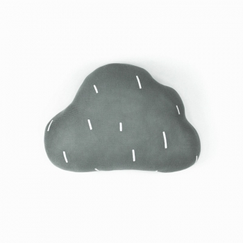 Rainy Cloud Cushion - Grey