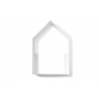 White Tall House Shelf