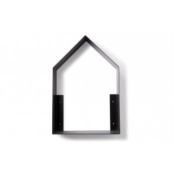 Black Tall House Shelf