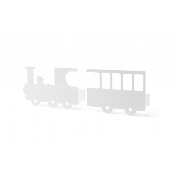 White Train Shelf