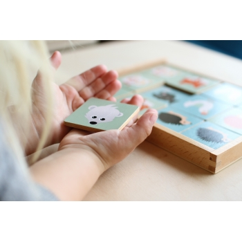Wooden Memo Game