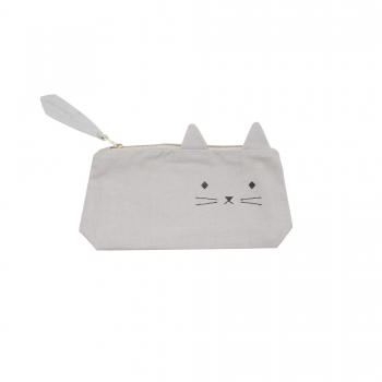 Cuddly Cat Animal Pencil Case