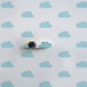 Blue Cloud Stickers