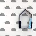 Grey Cloud Stickers