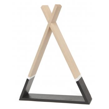 Black Tipi Shelf