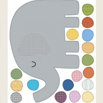Elephant & Dot Stickers