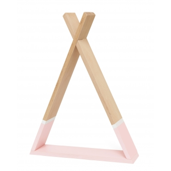 Pink Tipi Shelf
