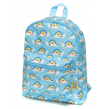 Blue Airplanes Backpack