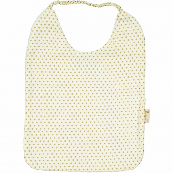 Golden Dots Elastic Bib