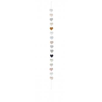 Linen Heart Chain