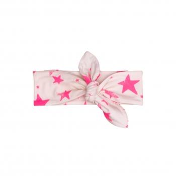 Pink Stars Headband