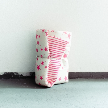 Neon Pink Stars & Stripes Playmat