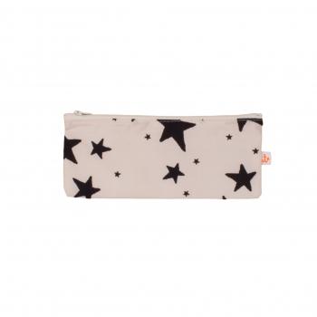 Black Stars Small Pencil Case