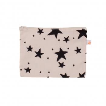 Black Stars Medium Pencil Case
