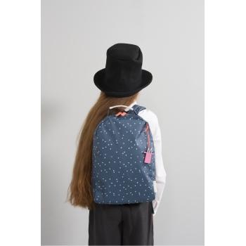 Dots Midnight Blue Miss Rilla Backpack
