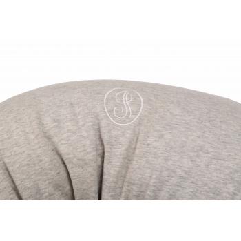 Stone Grey & Black Nursing Pillow Cover