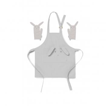 Rabbit Apron Vincent - Dumbo Grey