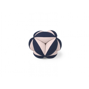 Fabric Ball Harald - Sweet Rose / Navy