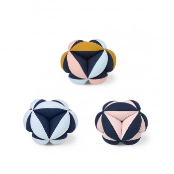 Fabric Ball Harald - Navy / Baby Blue