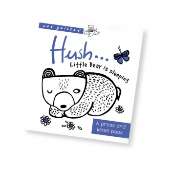 Hush ! Little Bear is Sleeping Press & Listen Book
