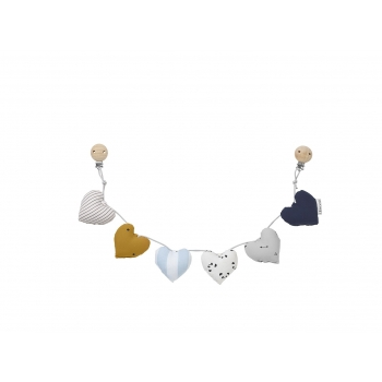 Pram Chain Holger - Hearts