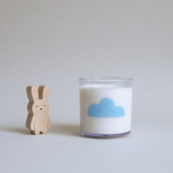 Blue Happy Clouds Tumbler