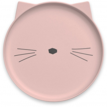 Cat Bamboo Table Set