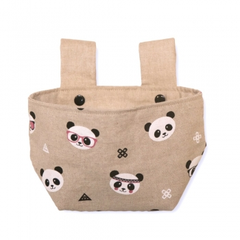 On the Road Panda Basket