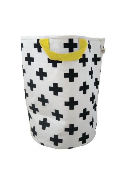 Cross & Yellow Storage Bag