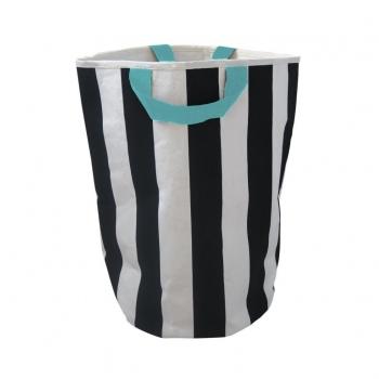 Stripe & Seafoam Storage Bag