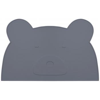 Placemat Jamie - Stone Grey Mr Bear