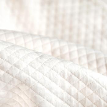 Cot Bumper - Diamond Ivory