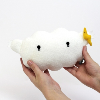 White Cloud Plush Toy – Ricestorm