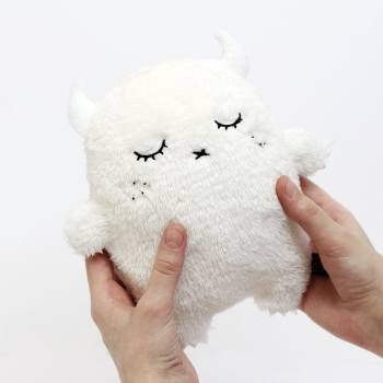 Ivory Monster Plush Toy – Ricepuffy