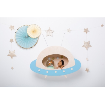 UFO Shelf Spacey Blue