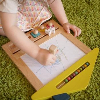Oekaki House Drawing Board - Dog