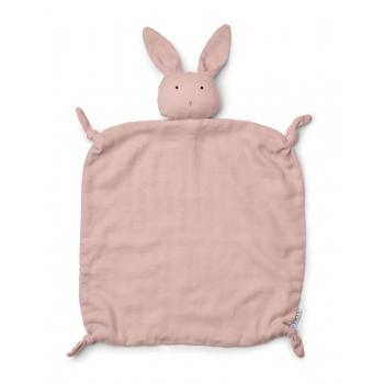 Agnete Cuddle Teddy Rabbit Rose