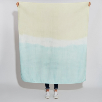 Mint & Yellow Luxury Scarf Swaddle