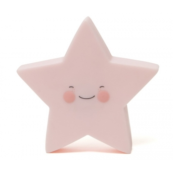 Pink Star Nightlight