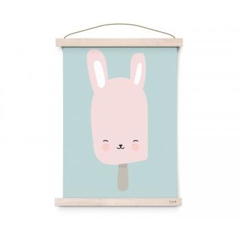 Bunny Pop Poster